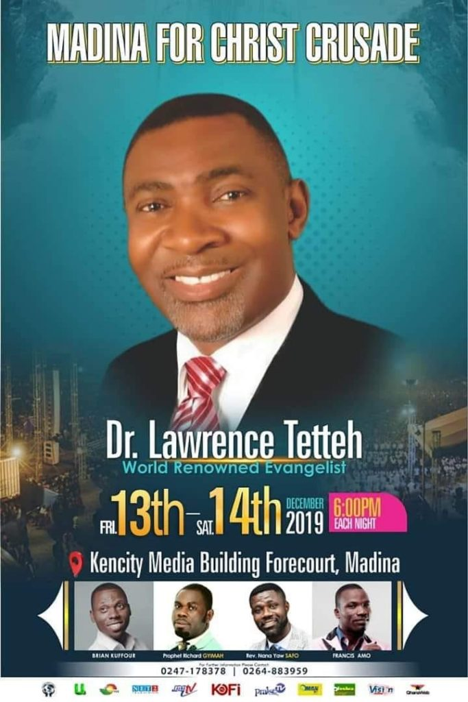 Dr Lawrence Tetteh - Madina for Christ Crusade