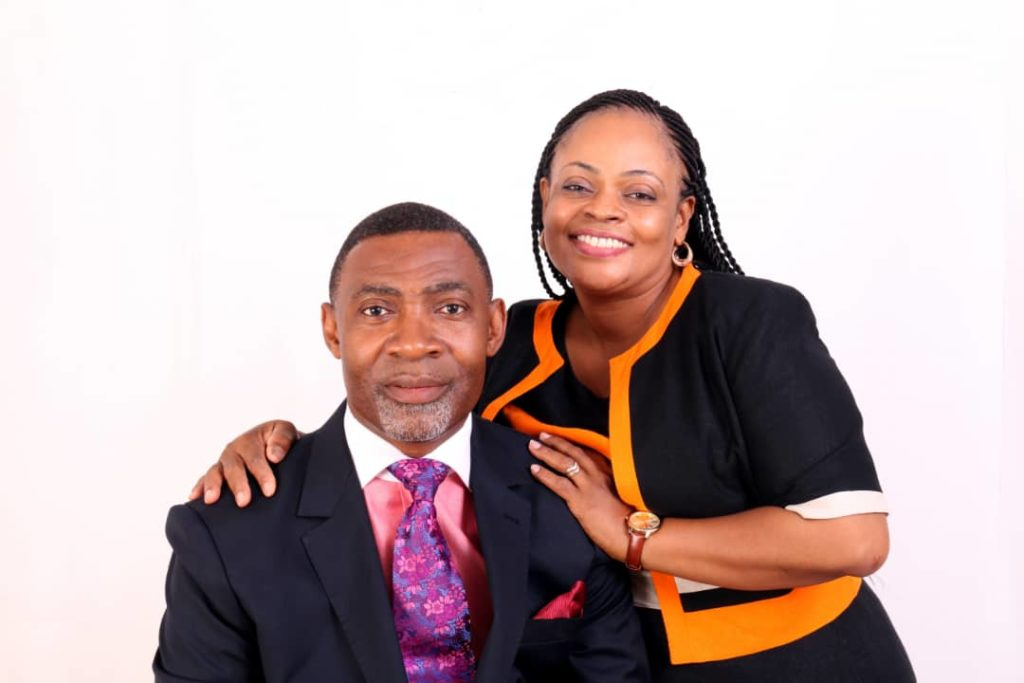 Dr Lawrence and Barbara Tetteh